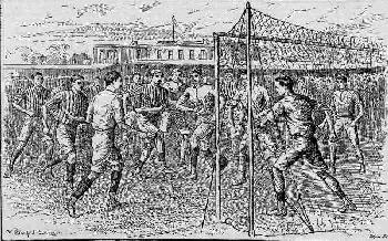 FOOTBALL IN VICTORIAN ERA 1882
